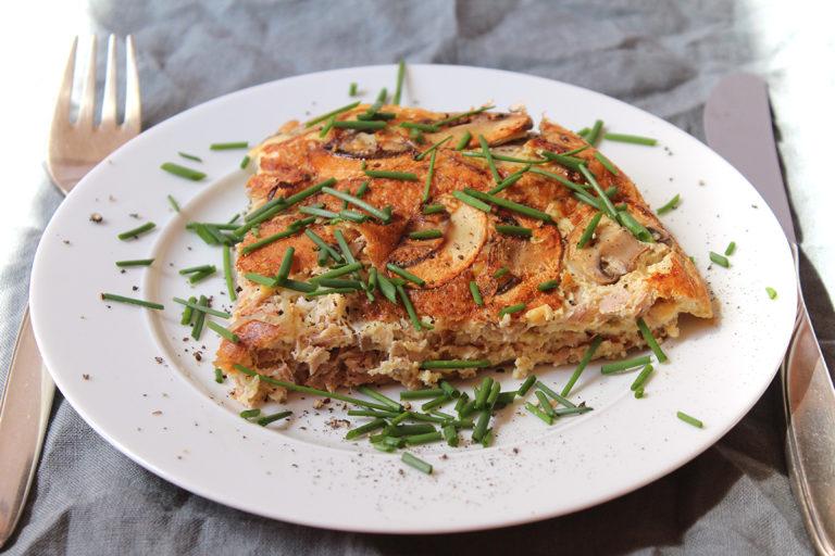 Thunfisch-Champignon Omlette