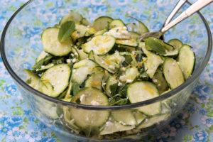 Zucchinisalat_Zitronenfeta_Minz